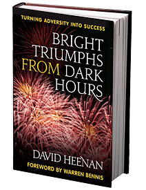 Book cover: Bright Triumphs From Dark Hours by David Heenan